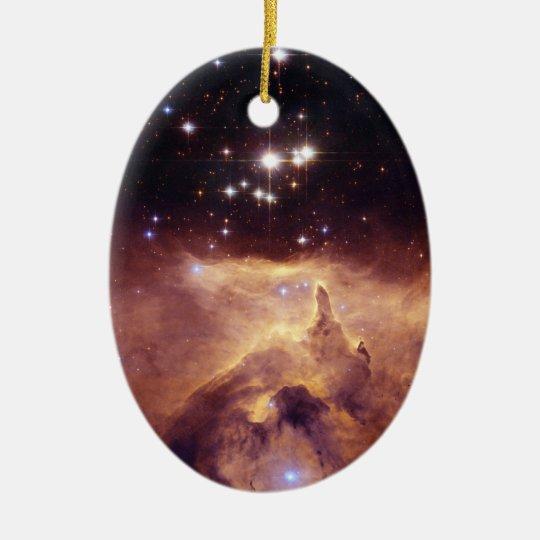 Star Cluster Pismis 24 Space Ceramic Ornament