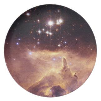 Star Cluster Pismis 24 Space Dinner Plates