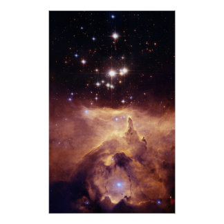 Star Cluster Pismis 24 Space Poster
