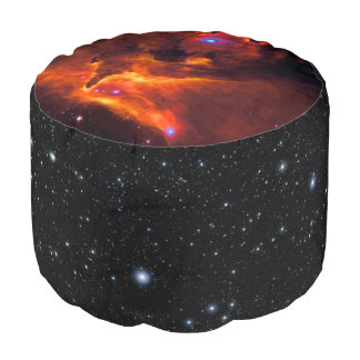 Star Cluster Pismis 24 telescope space image Round Pouf