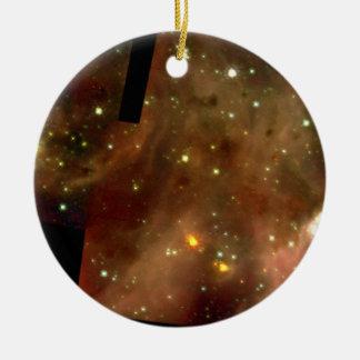 Star Cluster R136 in Nebula 30 Doradus.ai Ornament