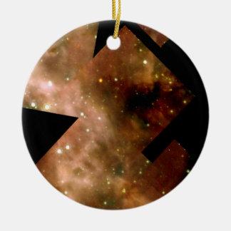 Star Cluster R136 in Nebula 30 Doradus Christmas Ornament