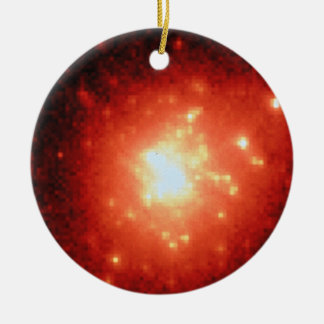 Star Cluster R136 - Wide Field:Planetary Camera Christmas Tree Ornament