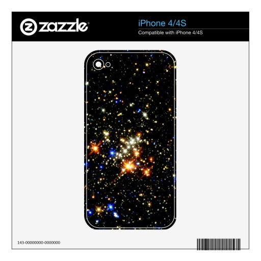 Star Cluster Decals For iPhone 4S