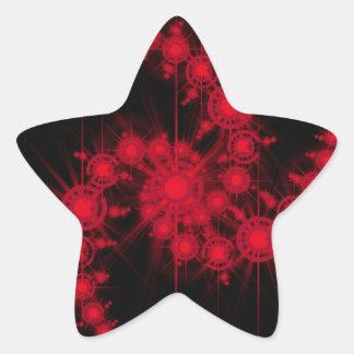star cluster star sticker