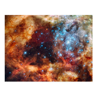 star-clusters-74063  star clusters star hubble dor postcard