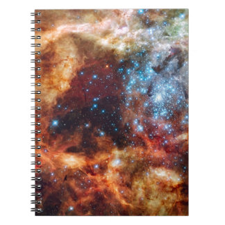 star-clusters-74063  star clusters star hubble dor spiral note book