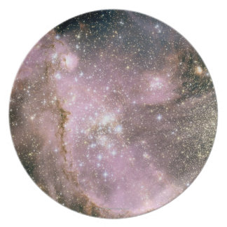 Star Clusters Dinner Plate
