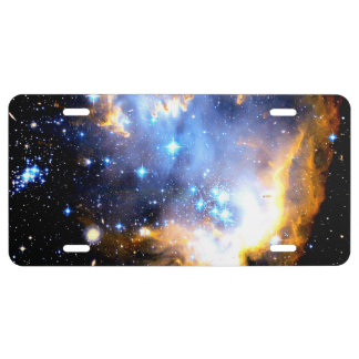 Star Clusters License Plate
