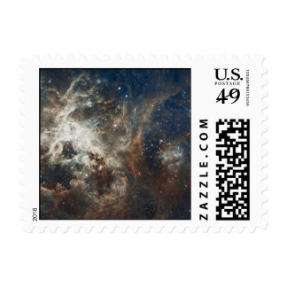 Star Clusters Postage Stamp