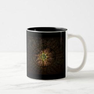 star compass coffee mug