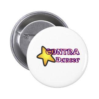 Star Contra Dancer Pins
