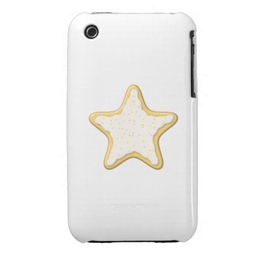 Star Cookie Design. Case-Mate iPhone 3 Cases
