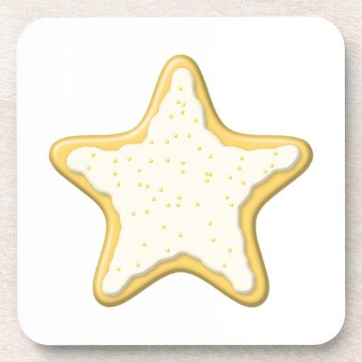 Star Cookie Design. Coaster