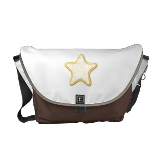 Star Cookie Design. Commuter Bags