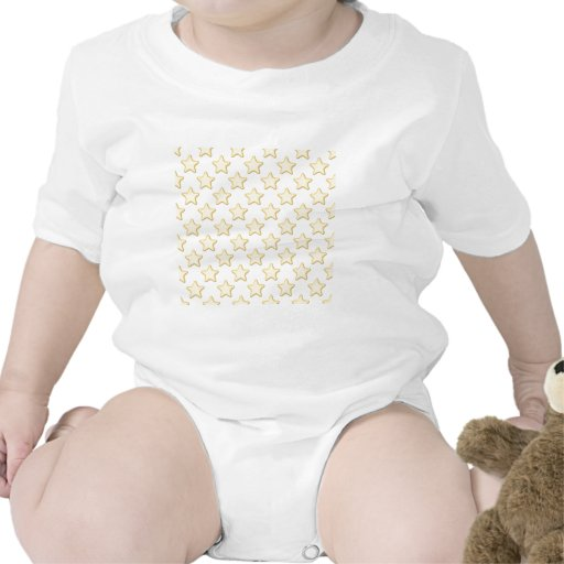 Star Cookies Pattern. On White. Tshirts