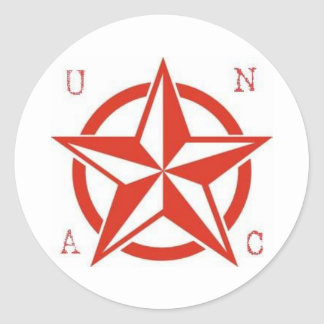 star copy1 classic round sticker