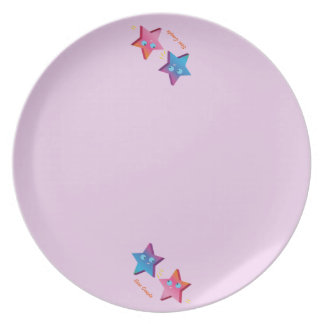 Star Couple Dinner Plate