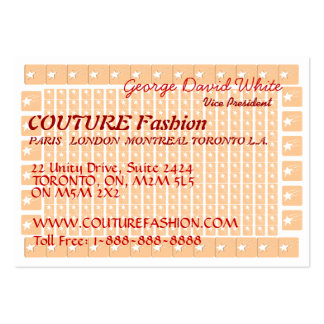 Star COUTURE Presentation Large Business Cards (Pack Of 100)