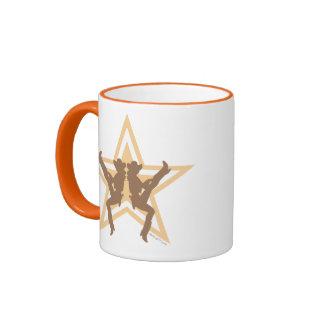 Star Cowgirls Orange Mugs
