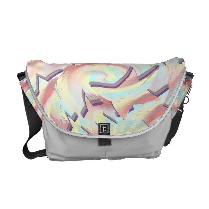 Star Crazy Courier Bag