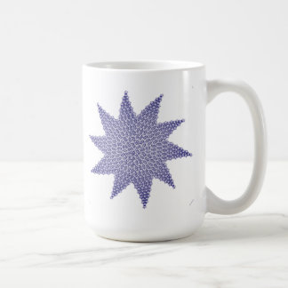 STAR CREST CLASSIC WHITE COFFEE MUG