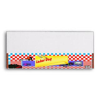 Star Cross Fabulous Labor Day  Envelopes