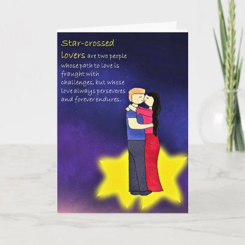 Star-crossed Lovers Greeting Card