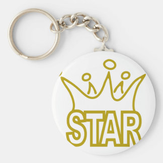 Star-Crown.png Keychain