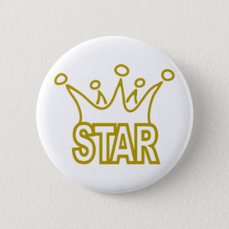 Star-Crown.png Pinback Button