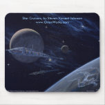 Star Cruisers, Star Cruisers, by Steven Vincent... Mouse Pads