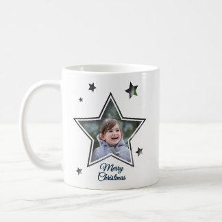 Star Cutout - Merry Christmas - Mug