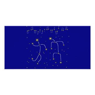 Star Dance Card