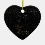 Star Dance Christmas Tree Ornaments