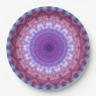 Star Dance Mandala Paper Plate