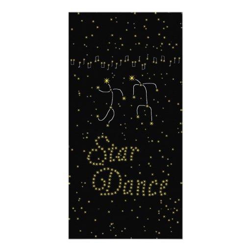 Star Dance Photo Card Template