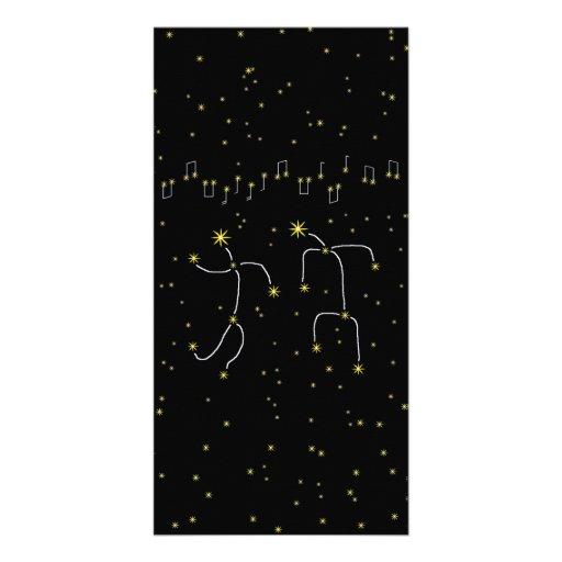 Star Dance Customized Photo Card