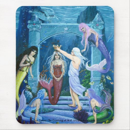 Star Dancer~The Crowning of Ariel By Lori Karels Mouse Pad
