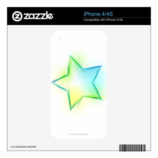 Star Decals For iPhone 4S