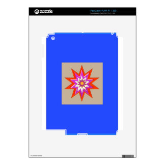 STAR Decorations : BLUE Background LOWPRICES iPad 2 Skins