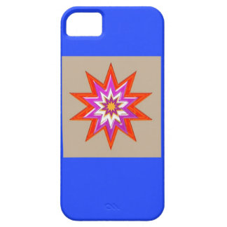 STAR Decorations : BLUE Background LOWPRICES iPhone 5 Cover