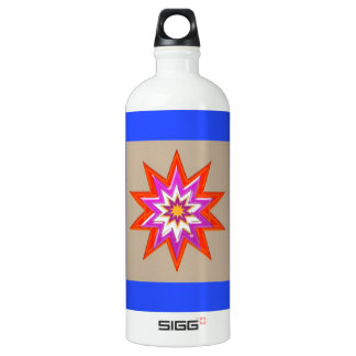 STAR Decorations : BLUE Background LOWPRICES Water Bottle