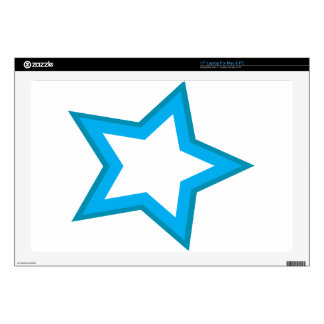 "star delicious 17"" laptop decals"
