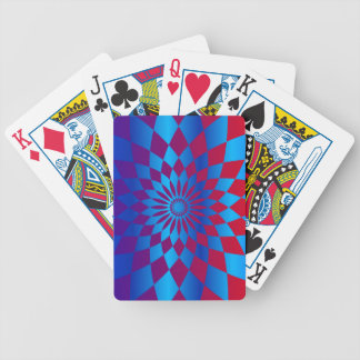 Star Design Bicycle Playing Cards