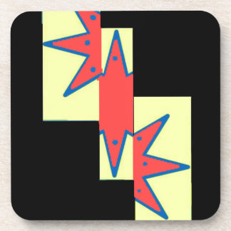 Star design coaster