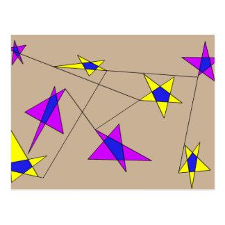 Star Design -PC- Postcard