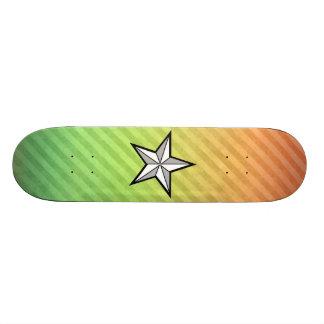Star design skateboard