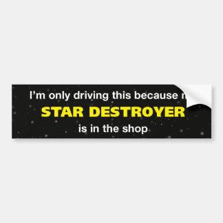 Star Destroyer Bumper Sticker