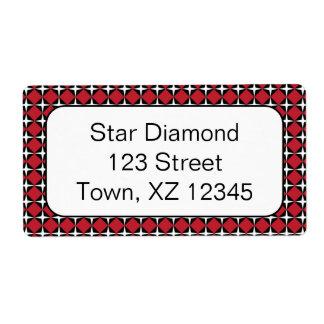 Star Diamonds Custom Shipping Label