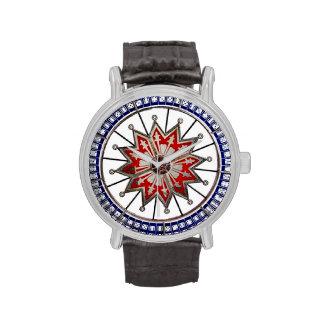 Star Dice Game Antique Gambling Wheel Vintage Wristwatches